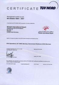 certificate-DCA-OHASAS