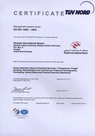 certificate-SAA-EMS